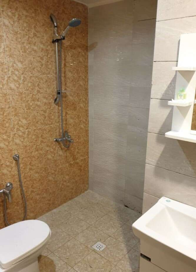 سرویس فرنگی و حمام